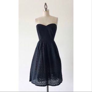 Anthro Moulinette soeurs dress fit and flare lace